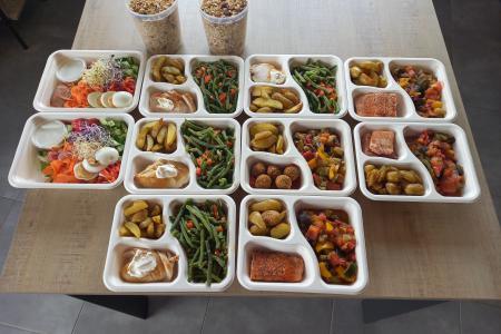 verse maaltijden geleverd aan huis in ecologische verpakking